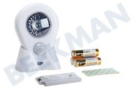 GP 810NOMAD  053743-LAME1 GP Lighting Nomad LED-Licht mit Bewegungsmelder Inklusive 3x AA-Batterien
