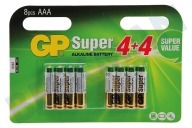 GP 03024ADHC8  LR03 Super Alkaline AAA Pencil Super alkalisch