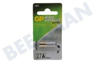 GP 10027AC1 A27  Batterie High Voltage MN27 12V 27A Alkaline