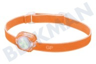 GP 260GPACTCH31001 CH31 GP Discovery  Stirnlampe Orange 40 Lumen, 2x CR2025 Batterie