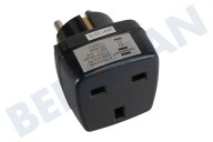 Brennenstuhl 1508470 Stecker Adapter NL  Stecker - IT 10 Amp. 250V geerdet