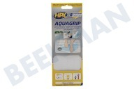 HPX  AG2024 AquaGrip Transparent 20mm x 240mm Sicherheitsklebeband, 20mm x 240mm