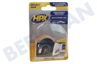 HPX  ZC11 Reflect Save Tape Gelb 19mm x 1,5m Sicherheits-Klebeband, 19 mm x 1,5 m