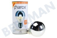 Pharox 106520  LED-Lampe LED Standardlampe Top-Spiegel A60 Dimmbar 230V 6W E27 2700K 600lm