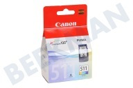 Canon 1426742 Canon-Drucker Druckerpatrone CL 511 Color/Farbe MP240, MP260, MP480