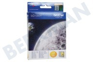 Brother LC1000Y  Druckerpatrone LC 1000 Yellow/Gelb DCP130C, DCP330C
