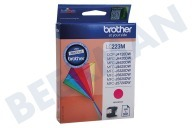 Brother LC223M LC-223M  Druckerpatrone LC-223 Magenta/Rot MFC-J4120DW, MFC-J4420DW, MFC-J4620DW