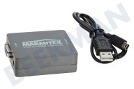 Marmitek 25008267  08267 Connect VH51 VGA zu HDMI