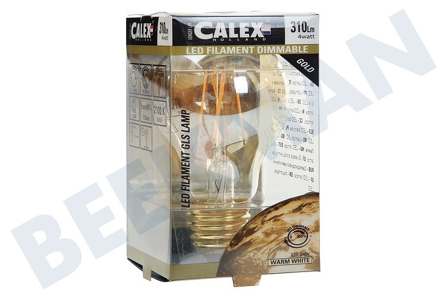 Calex  474504 Calex LED Vollglas Filament Standardlampe 4W 310lm E27